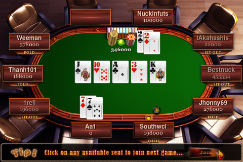 Screenshot Mega Poker Online Texas Holdem (500K Edition)